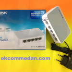 Tplink switch hub 5 port 10/100 mbps