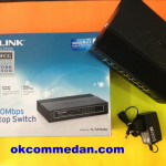 Switch hub Tplink 16 port  Bergaransi