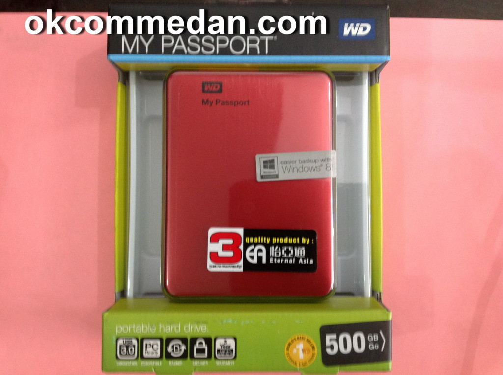 Harddisk eksternal 500Gb