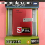 Harddisk Eksternal 500 GB WDC Passport Ultra  Usb 3.0