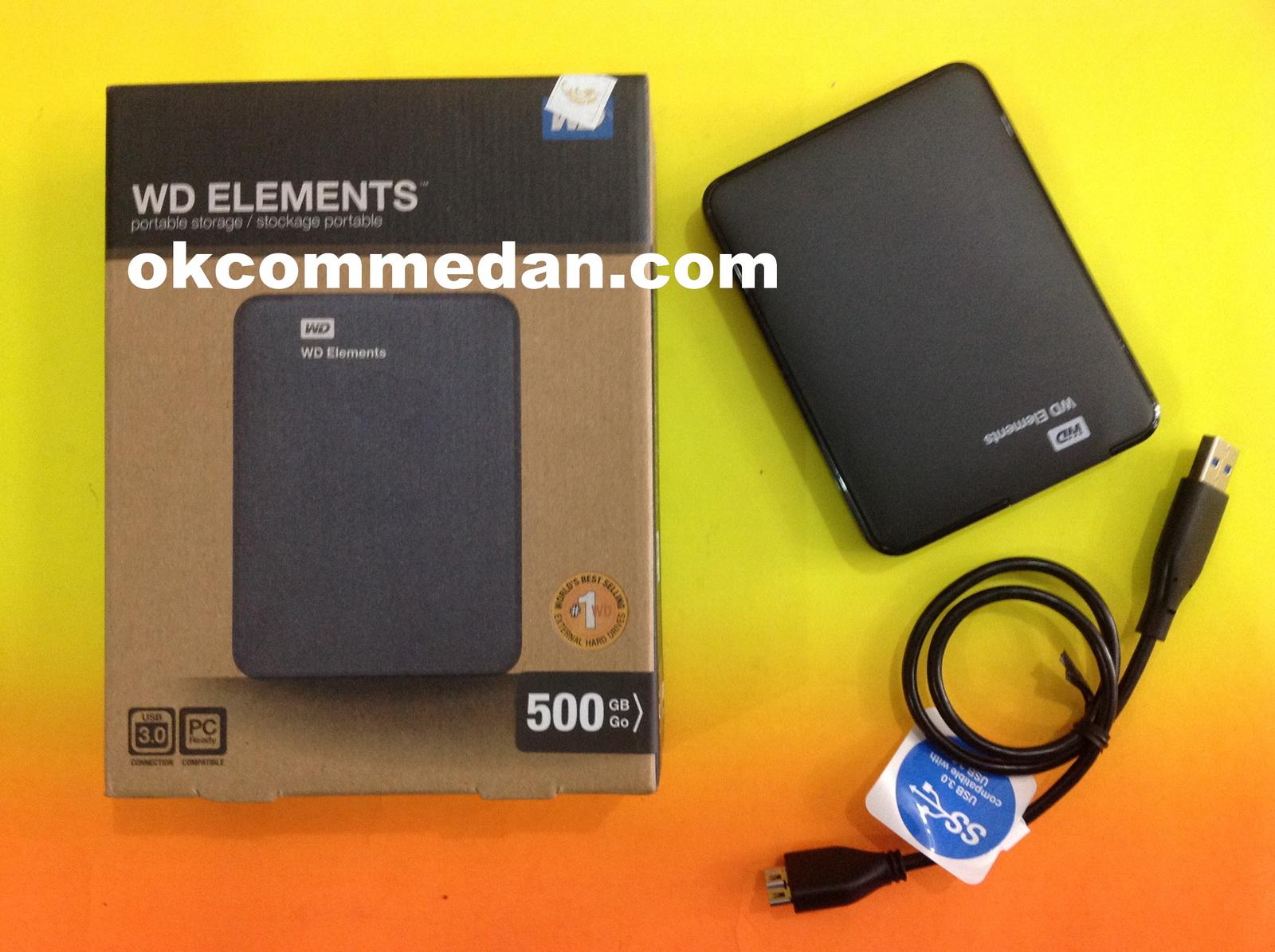hdd wd elemen 500Gb Ext