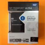 Harddisk  MY Passport Ultra WDC 2 Tera Eksternal