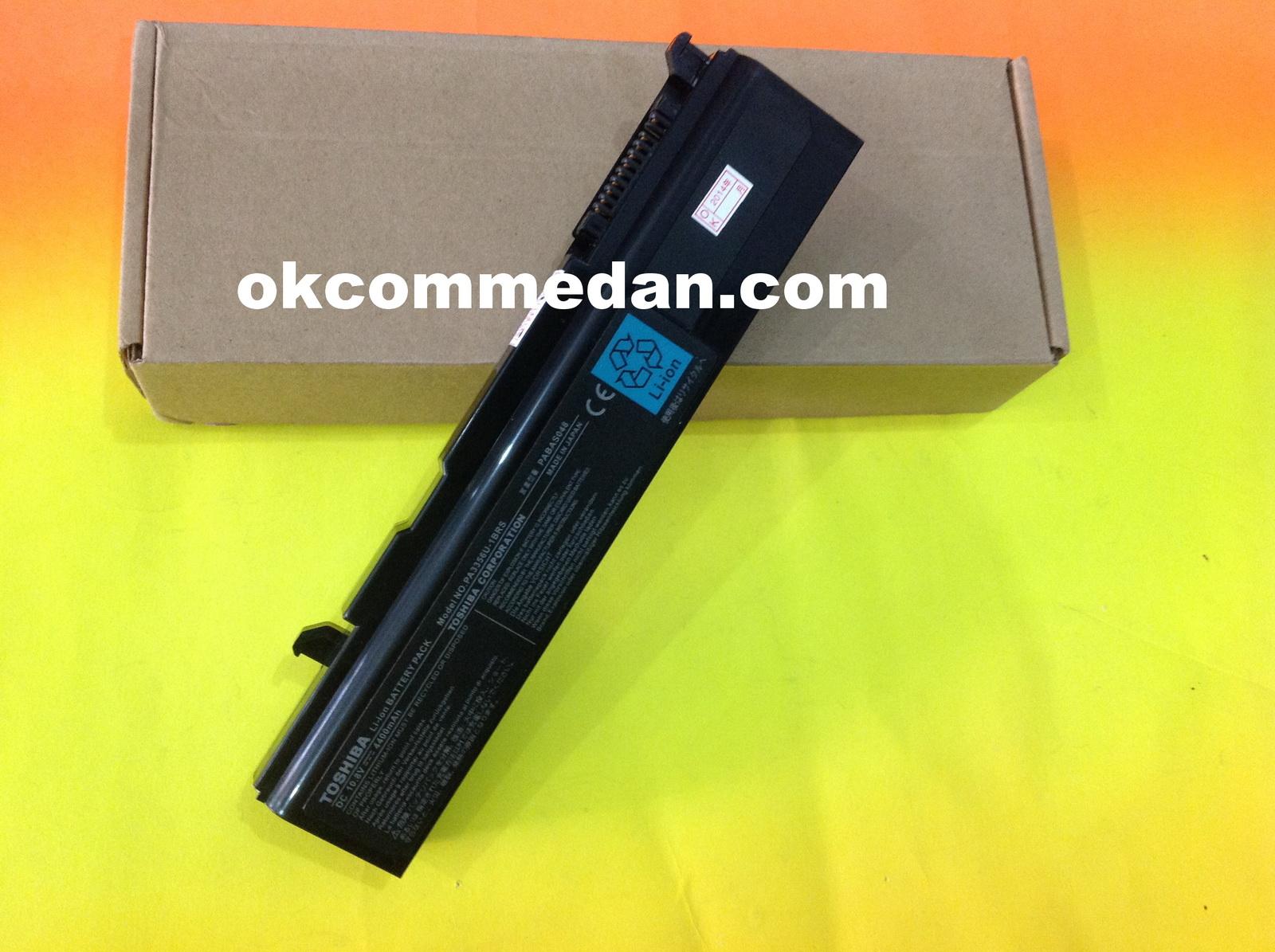 baterai untuk notebook toshiba pa3588