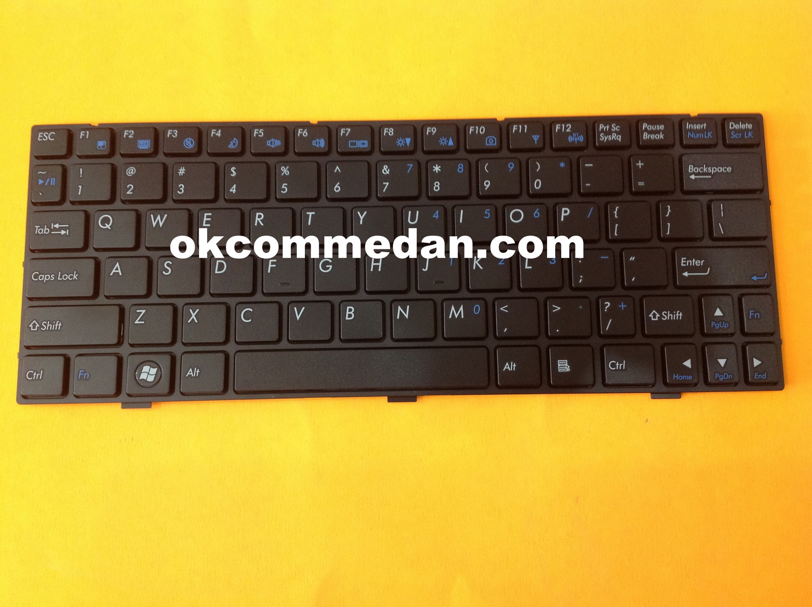keyboard notebook axioo pjm713
