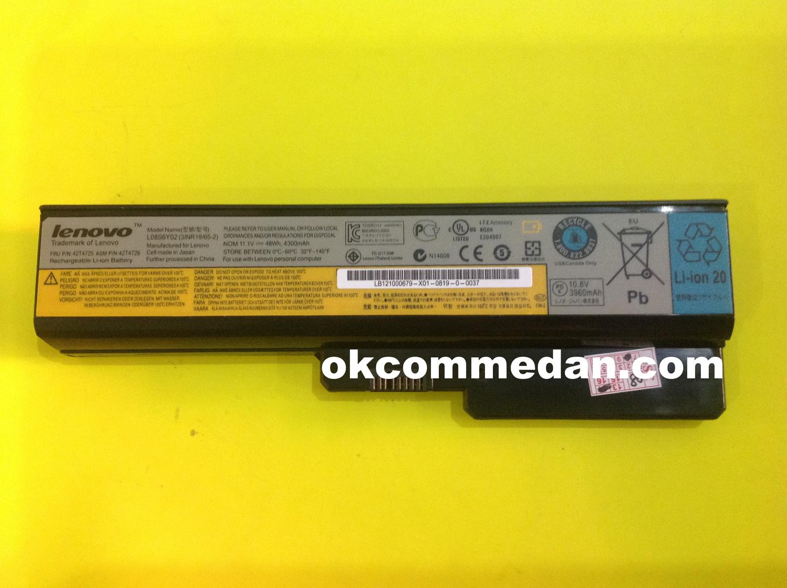 Baterai Lenovo 3000