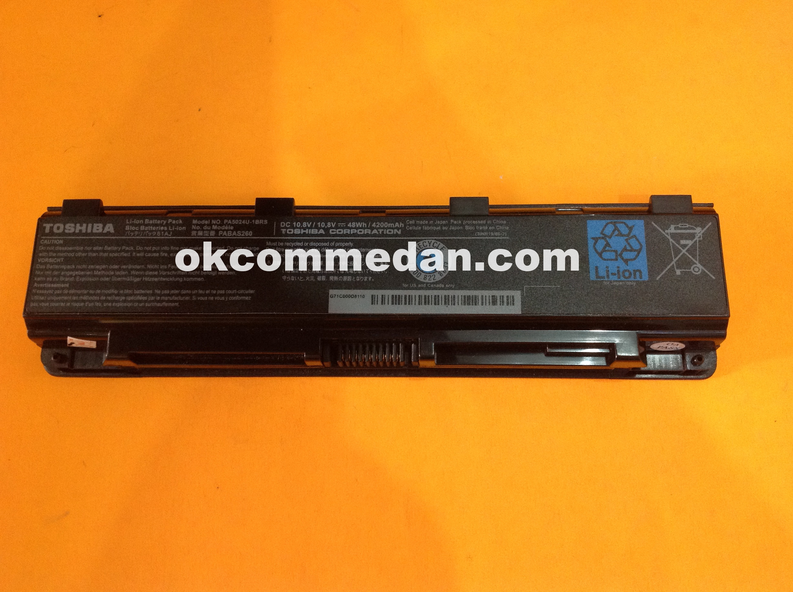 baterai toshiba c800d