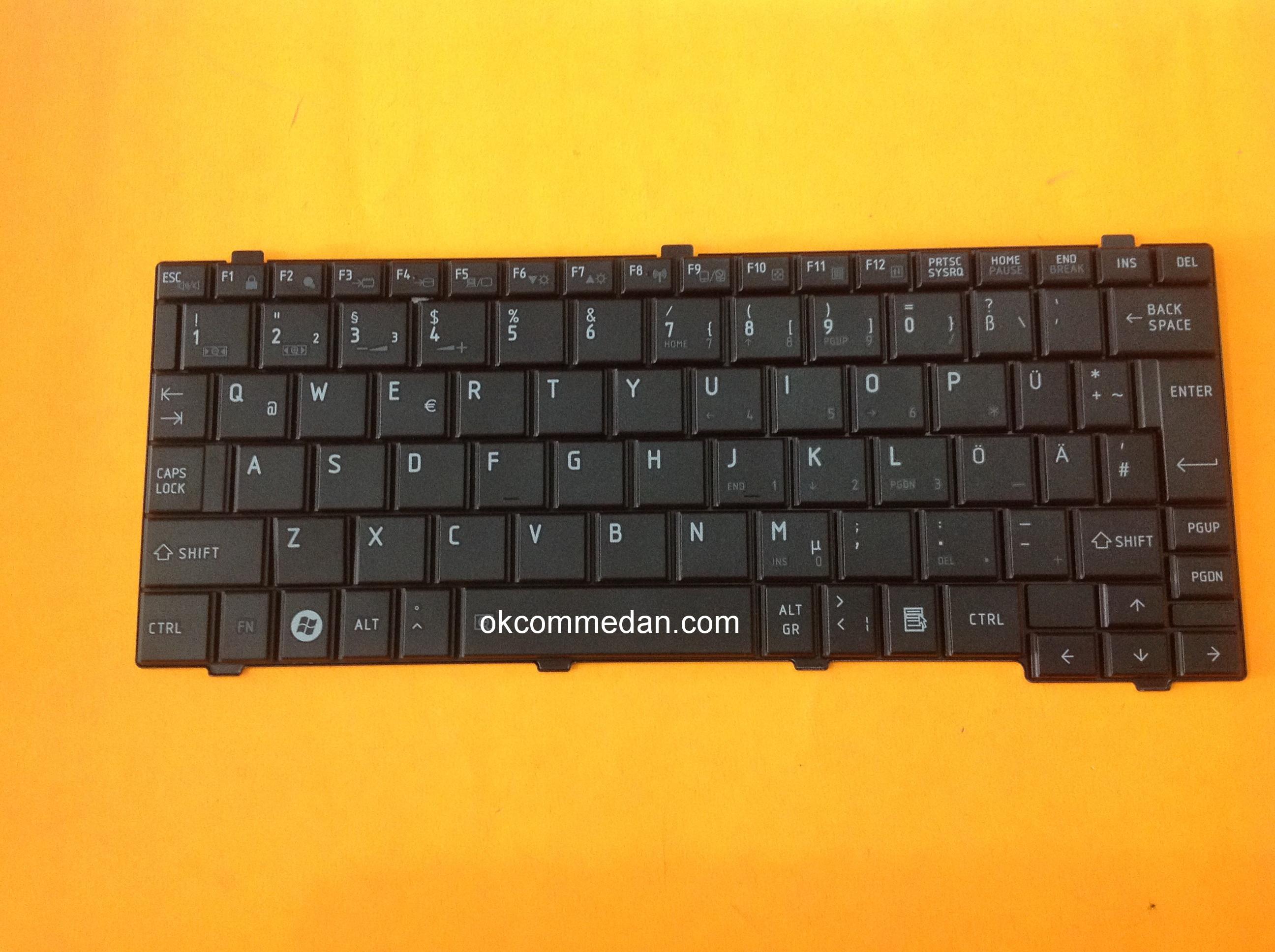 keyboard notebook toshiba nb520