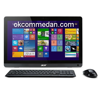 Acer All in one Komputer azc606 intel pentium
