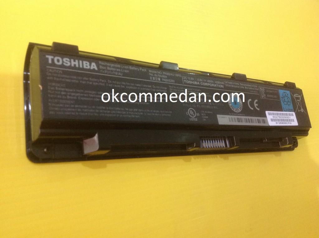 Harga baterai untuk notebook toshiba c55 bergaransi