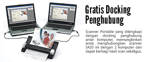 plustek scanner s420 murah