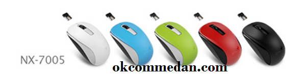 Genius Mouse Wireless NX 7005 bagus