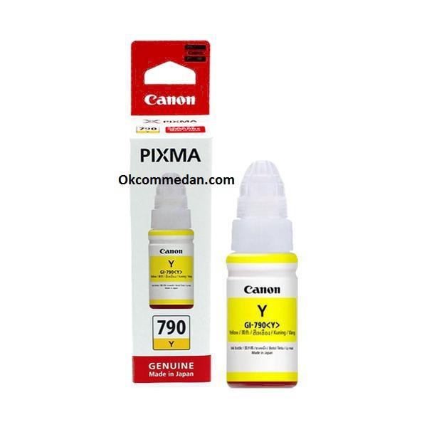 Harga Tinta Asli  Canon Gi 790 Yellow