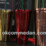Starbucks tumbler cold cup stainless warna