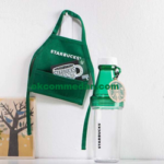 Starbucks tumblers sunny bottle venti bonus apron dan singapore card