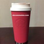 Starbucks tumbler elma stainless red soft