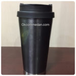Starbucks tumbler elma stainless black
