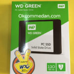 Harga  WD Green SSD 120 Gb sata bergaransi