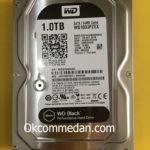 Harddisk PC WD 1 tera Black sata garansi 5 tahun