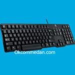 Keyboard Logitech K100 Ps/2 asli bergaransi