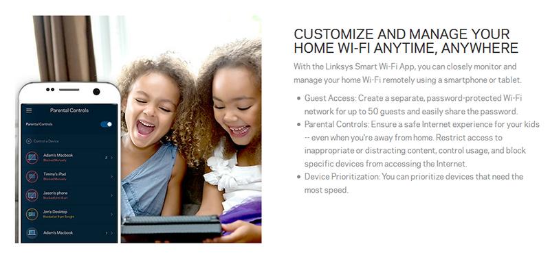 Aplikasi Linksys Smart Wifi