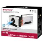 Transcend Storejet 35U3 Harddisk enclosure 3.5 inchi