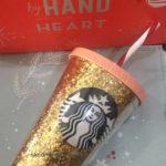 Starbucks tumbler cold cup glitter