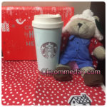 Starbucks tumbler elma stainless blue