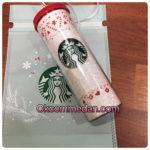 Starbucks tumbler cold cup santa