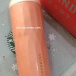 Starbucks tumbler termos stainless peach