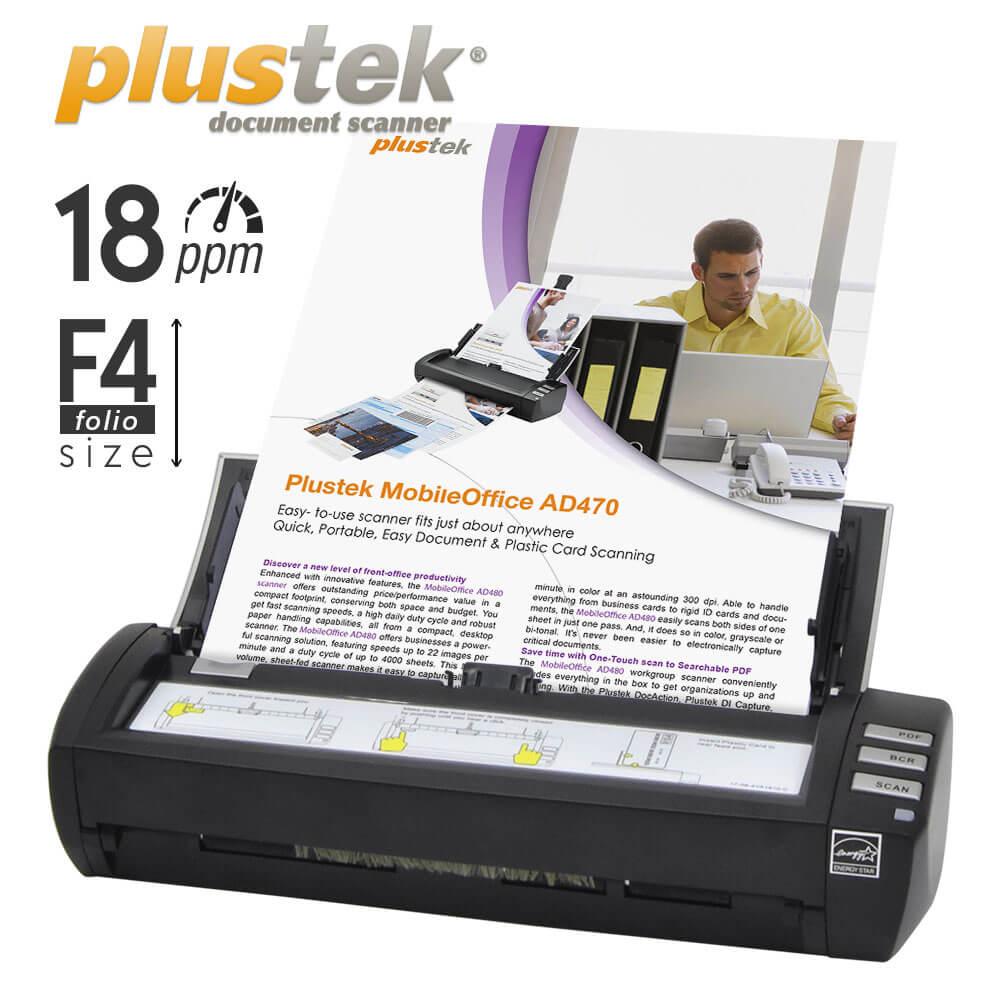 Plustek mobile office AD470
