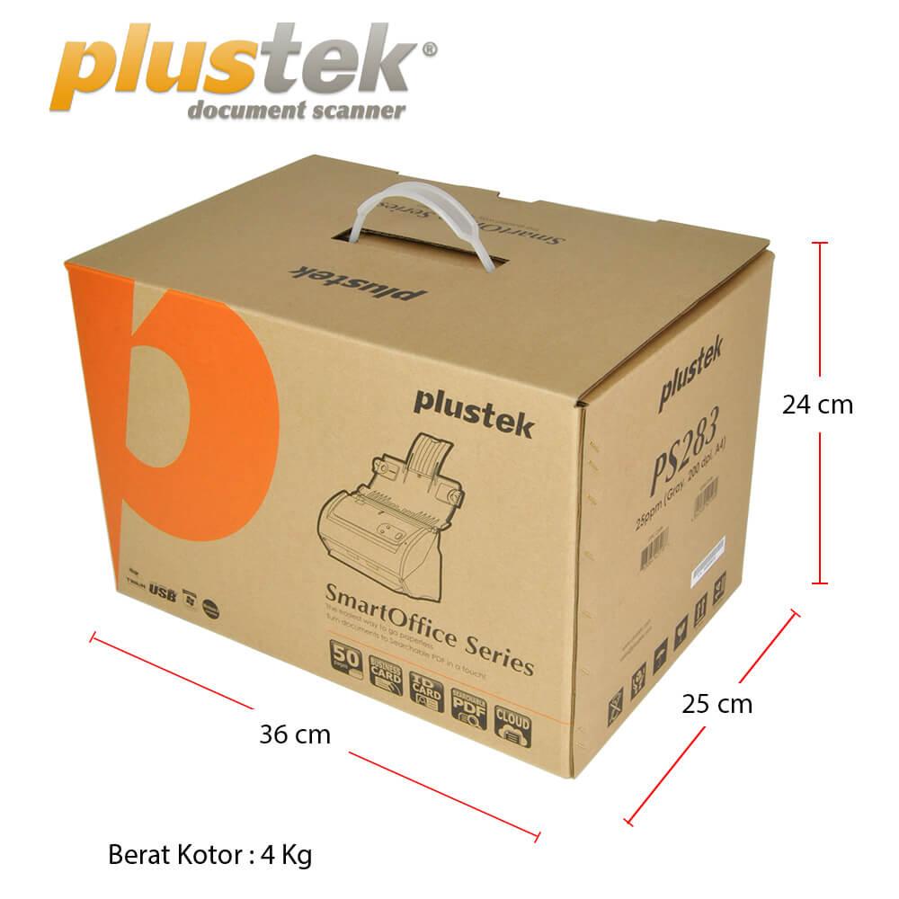 Dimensi Kotak Plustek PS283
