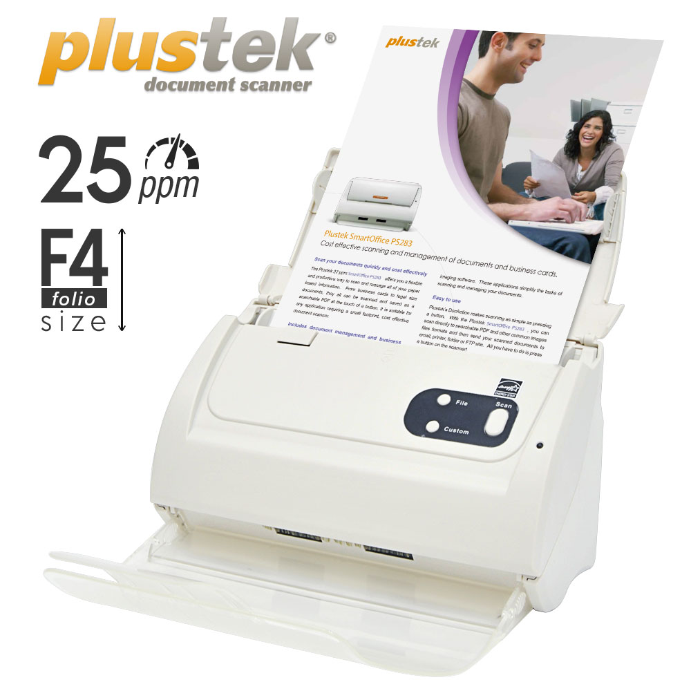 Plustek Scanner PS283 bergaransi