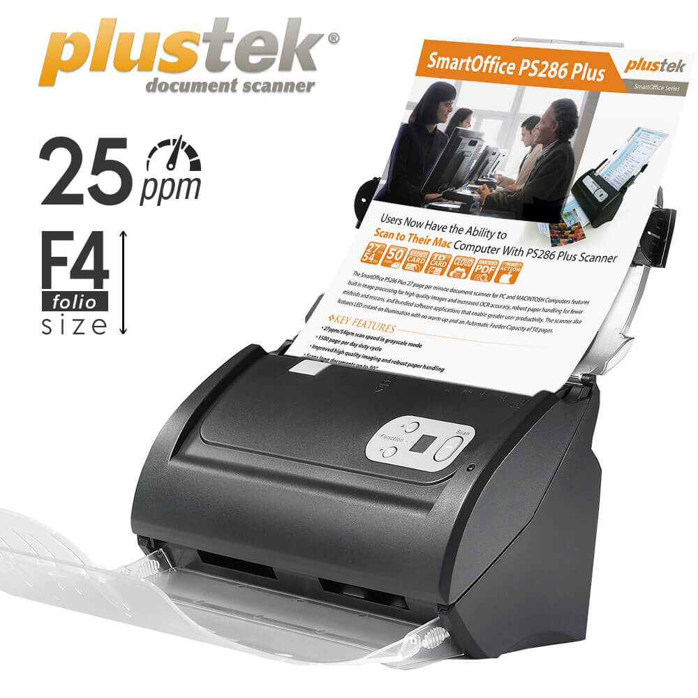 Scanner Plustek PS286 Plus bergaransi