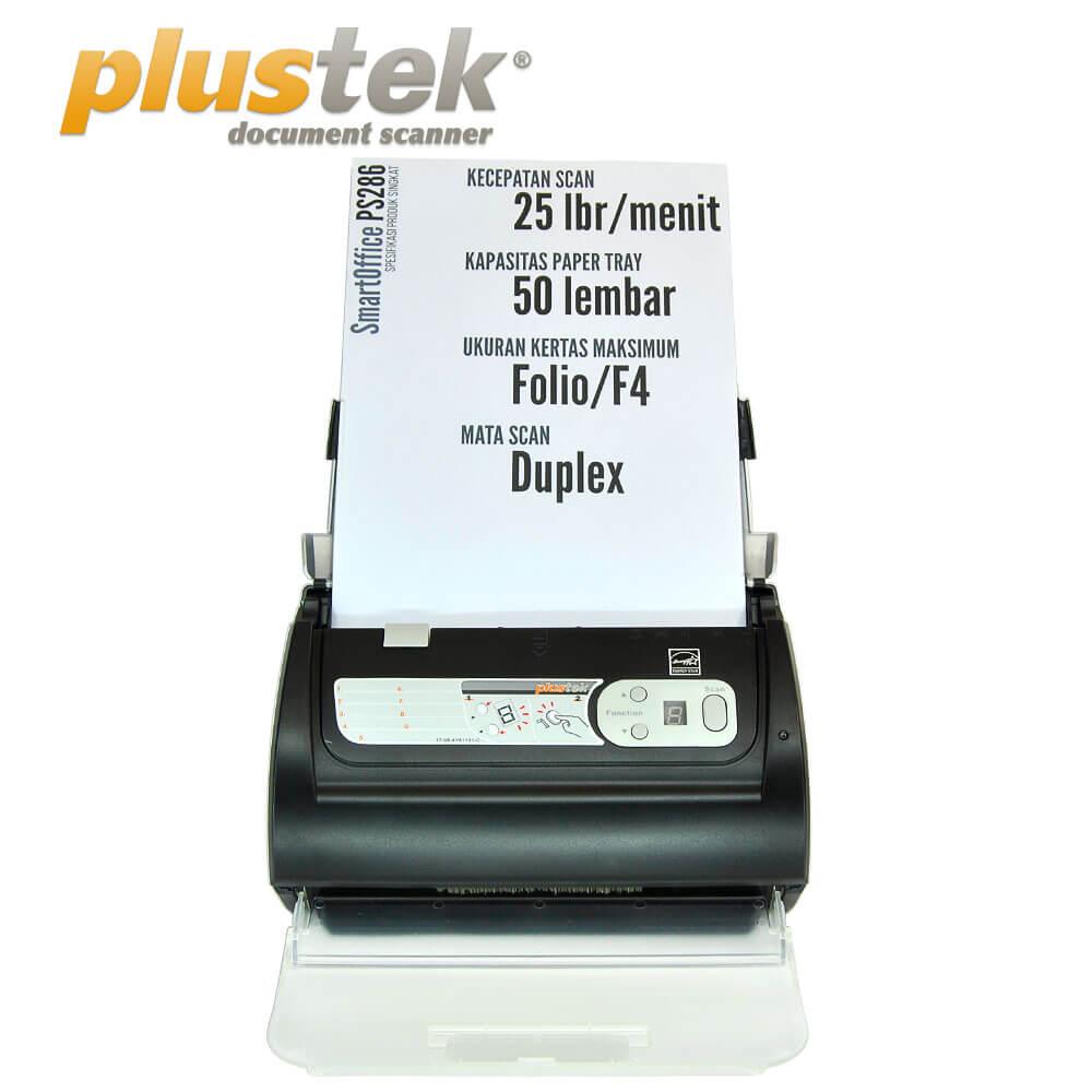 Harga Scanner Plustek PS286 Plus bergaransi