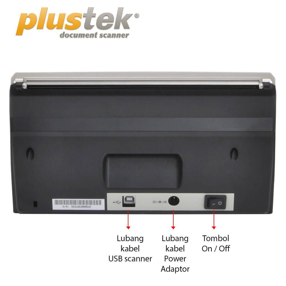 Interface Scanner Plustek PS3060u