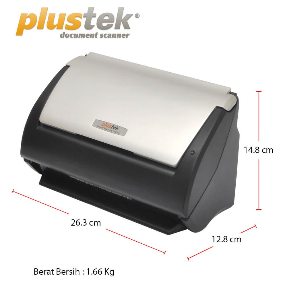 Dimensi Scanner Plustek PS3060u