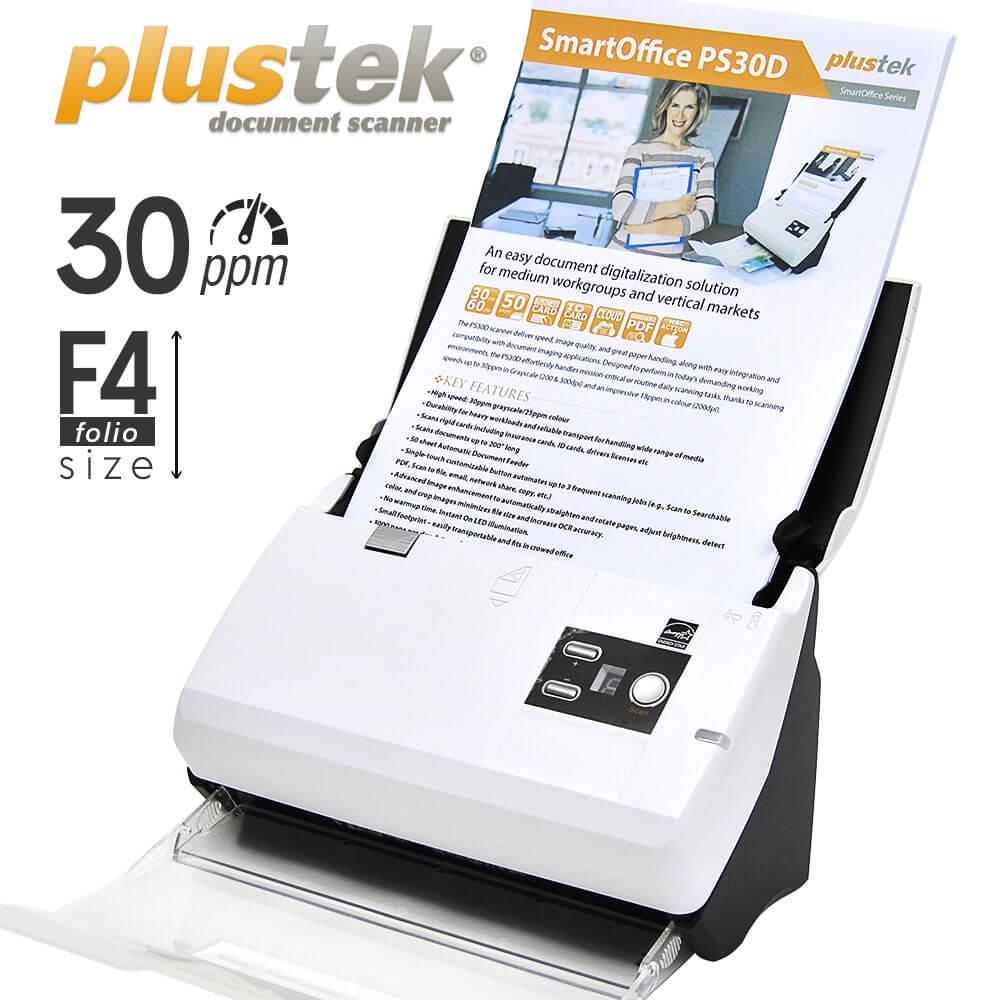 Jual Scanner Plustek PS30d