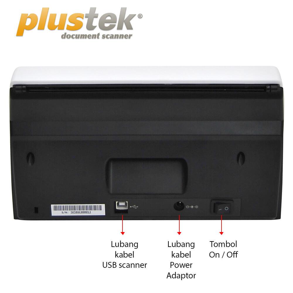 Interface Scanner Plustek PS30d