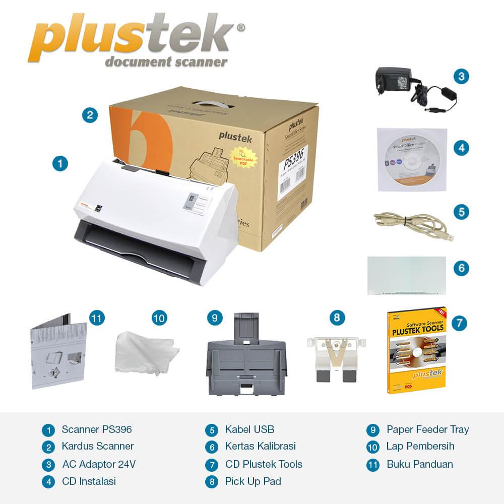 Perlengkapan Scanner Plustek PS396