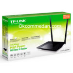 Tplink WR841hp Wireless Router 300 mbps 2 antena