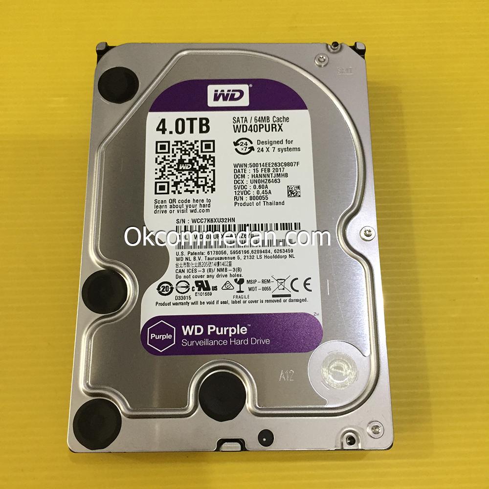 WD Purple 4 tera Harddisk PC Sata bergaransi