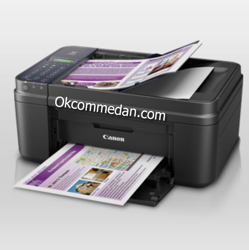 Printer Canon Pixma E480 Print Scan Copy Fax Wifi