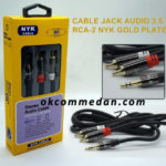 NYK kabel Audio 3.5mm To 2RCA