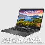 Asus Zenbook UX430un intel core i7