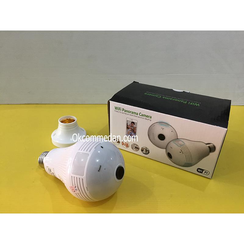 Kamera Pengintai CCTV 2 mp model bola lampu