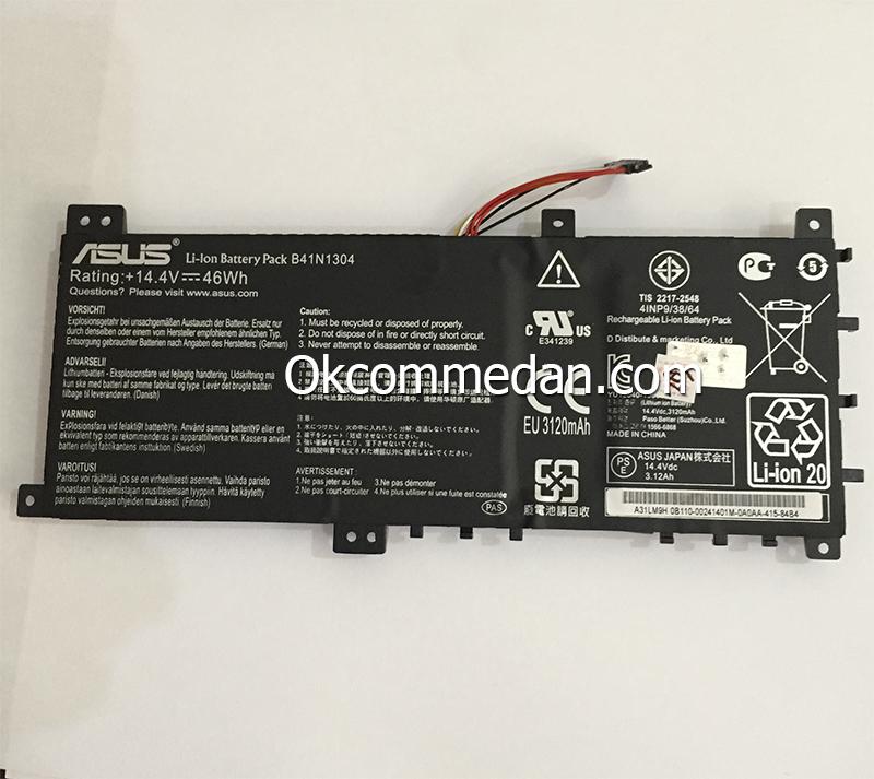 Jual Baterai untuk laptop Asus A451 Series