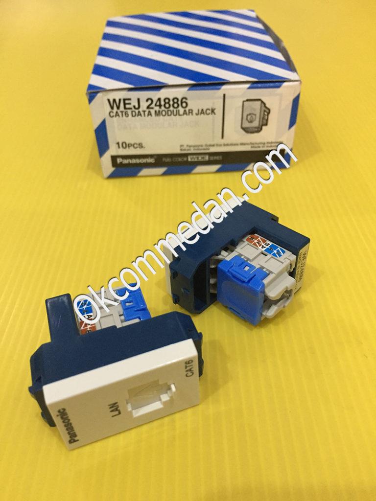 Data Modular Jack Cat 6  Panasonic WEJ 24886