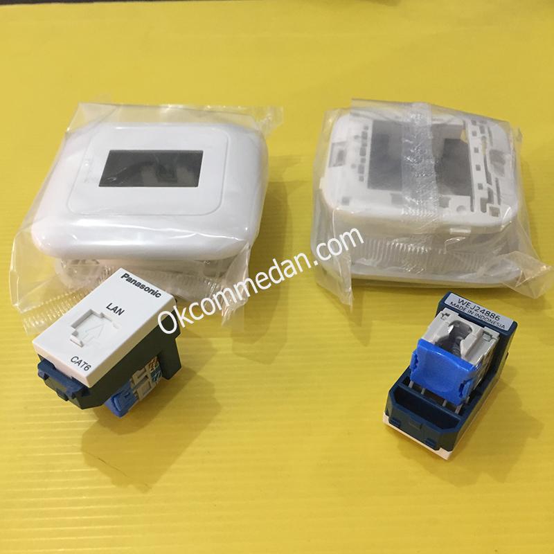 Panasonic Data Modular Jack Cat 6 WEJ 24886