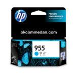 Ink Catridge HP 955 Cyan warna biru asli