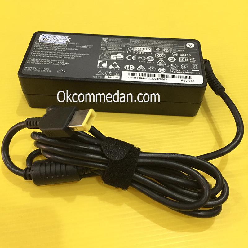 Adaptor Lenovo 20v 4,5a konektor model petak